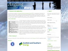exeGesIS created the Angling Diary website