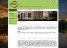 exeGesIS developed the DerwentWISE Heritage at Risk website for the Derbyshire Wildlife Trust