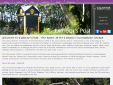 exeGesIS created the Exmoor National Park Heritage Explorer