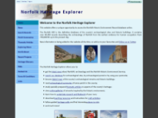 exeGesIS created the Norfolk Heritage Explorer website