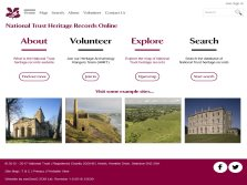 exeGesIS developed the National Trust Heritage Records Online website