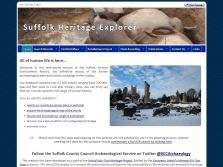 exeGesIS created the Suffolk Heritage Explorer website