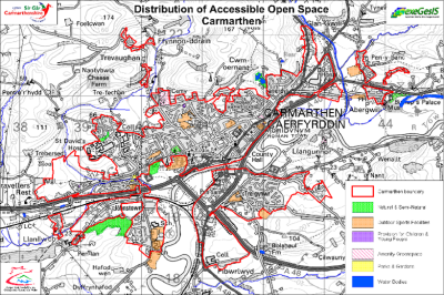 Carmarthenshire Greenspace analysis