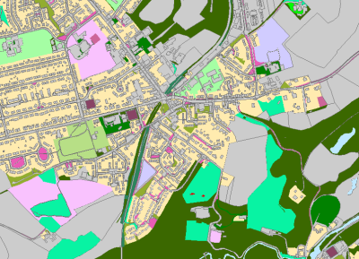 Greenspace analysis Scotland