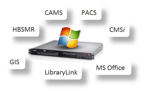 exeGesIS application hosting image