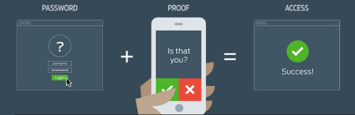 Duo two factor authentication process