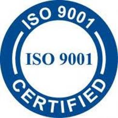 ISO9001 certification logo