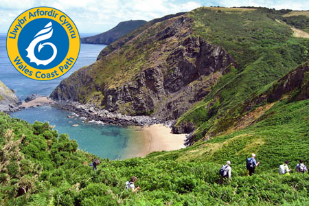 Photo of Ceredigion Coast, part of the Wales Coast Path (Photo: PB)