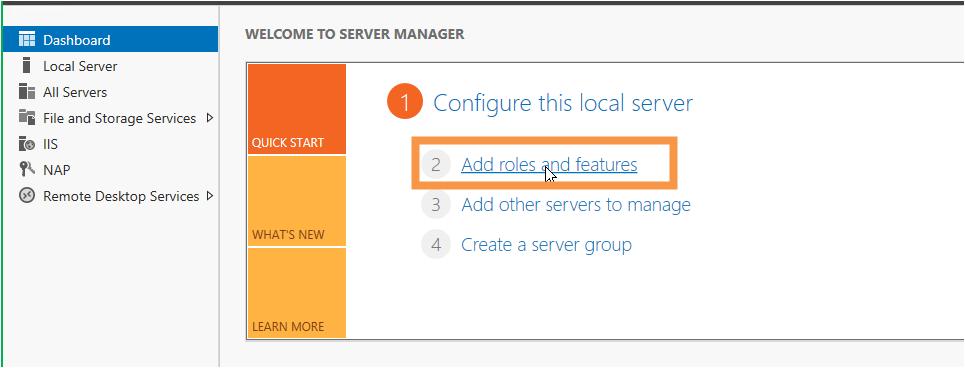 Server 2012 setting up remote gateway, remote desktop and